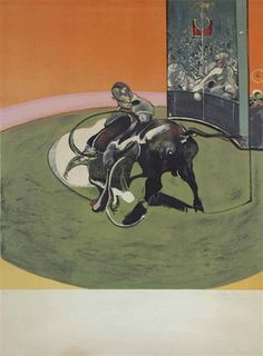 Francis Bacon, Study for a Bullfight No. 1