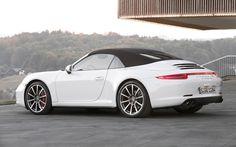 2013 Porsche 911 Carrera Cabriolet white front three quarter top u Porsche 911 Carrera 4s, Porsche 991, Porsche Autos, Black Porsche, Porsche Sports Car, Porsche Cars, Porsche Wheels, Porsche Service, Convertible