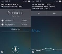 Teach your iPhone correct pronunciation