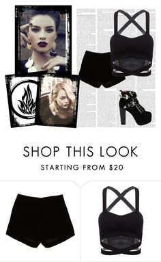 """""""Dauntless"""" by aphrodite-fashion on Polyvore featuring Andrew Gn and Jeffrey Campbell"""
