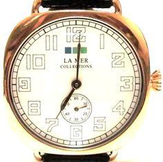 LAMERCOLLECTIONS ラメールコレクション アメリカ の スタイリッシュ 腕時計 セール で お安く ブラック 本革 レザー バンド お洒落 海外 ブランド | セレクトショップ L'Etoile beaute ( レトワールボーテ ) 代引き可 コンビニ決済可 銀行振り込み可