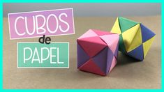 CUBO DE PAPEL - Origami Ideas Paso A Paso, Etsy, Videos, Origami Paper, Paper Engineering, Frases, Origami Stars, Cactus Backgrounds, Origami Step By Step