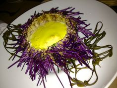 Sea Urchin appetizer at RN 74, San Francisco