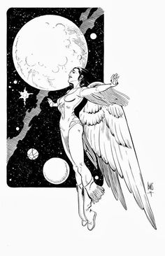 Dawnstar of the Legion of Superheroes  by Paul Smith