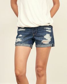 Womens Low Rise 4 Inch Short