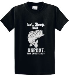 Quality Hoodies and tees..Click here http://zapbest2.myshopify.com/collections/hobby/products/eat-sleep-fish Made just for you! Printed in USA Fast Shipping! In Stock.
