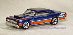 Mein Blog über Modellautos: Mattel Hot Wheels Dodge Dart Malaysia Decals 2012