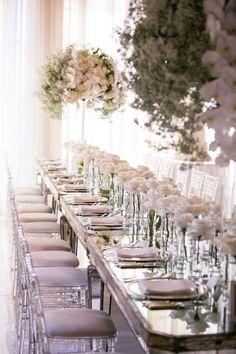 Wedding Tablescape - Photographer: Samuel Lippke Studios