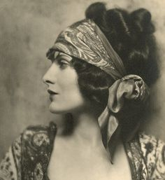 head scarf. 1920s