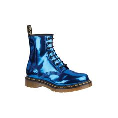 Dr. Martens Electric Blue Koram Flash ($120) ❤ liked on Polyvore featuring shoes, boots, blue, dr. martens, dr martens, royal blue boots, blue boots, dr martens footwear, electric blue boots and dr martens boots