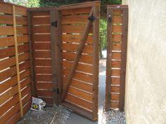 Cozy Custom Fence Gate