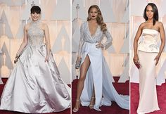 Felicity Jones, Chrissy Teigen, Kerry Washington Oscars