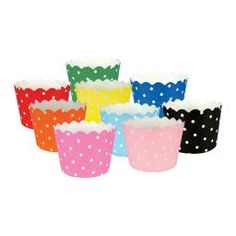 Rainbow cupcake cups - SO cute for young womens new beginnings or yw in excellence! Could also fill cups with butter mints or other treats! Popcorn Tree, Yw In Excellence, Cupcake Supplies, Butter Mints, Cupcake In A Cup, Little Cup, Rainbow Cupcakes, Baking Cups, Paper Products