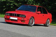 BMW E30 | Bimmer | BMW | BMW NA | BMW USA | E30 | classic cars | classic BMW | red BMW