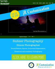 #SmugMug site of the week - Snitzer Photography - click to read more