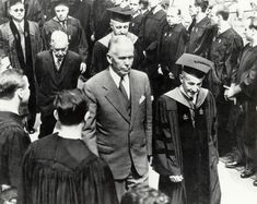 """June """"Secretary of State George C. Marshall, at Harvard University regarding a proposed a plan, since known as the Marshall Plan, that made possible the economic rehabilitation of European nations ravaged by the war. The Marshall, Harvard Business School, Story Of The World, Cold War, Teacher Resources, World War Ii, American History, Wwii, Culture"""