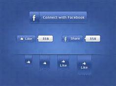 facebook interface elements - Google zoeken