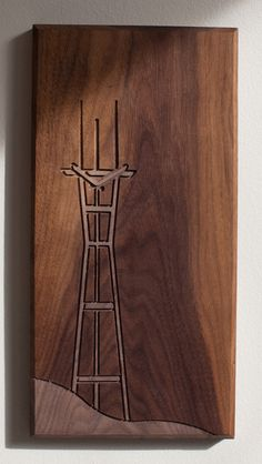 Sutro Tower - Walnut