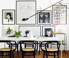 The last days of Spring: Interior beauty: wall decoration