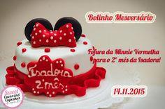 Sweet Cucas and Cupcakes by Rosângela Rolim: Bolinho de Mesversário!