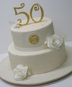 Anniversary cake...love the quilting on the bottom tier