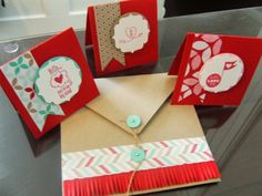All-Occasion Card Class/Club - Wednesday, January 15 - Card Little Valentine, Valentine Cards, Valentines, Envelope Punch Board, Paper Crafting, Cute Gifts, Note Cards, Stampin Up, Print Design