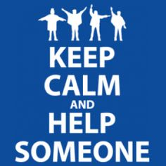 Help someone without wanting anything in return.