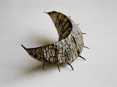 odine lang, paper and wire sculpture - Thanks for following. It will be fun to see where it takes us.