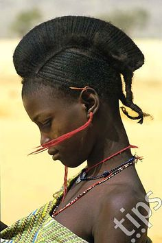 Africa | Fulani girl in Mali | ©Photononstop