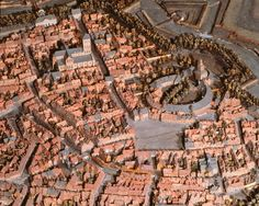 First constructed in 1668 and then again in 1697, this model of Ath in Flanders measures nearly 200 square feet. Sébastien Le Prestre de Vauban, the engineer responsible for all fortifications in France directed the siege of Ath, taking the city in only two weeks. CREDIT: A. LONCHAMPT, CENTRE DES MONUMENTS NATIONAUX, ALC 80/625.