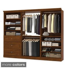 John Louis Honey Maple Door and 5-drawer Deluxe Organizer - Free Shipping Today - Overstock.com - 17536522