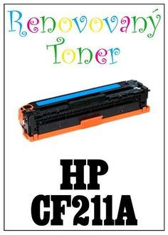 Renovovaný toner HP 131A / CF211A  za bezva cenu 978 Kč