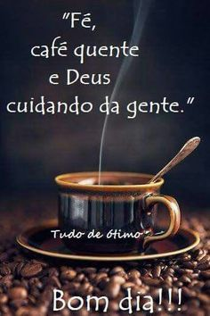 Bom Dia! I Love Coffee, My Coffee, Coffee Cups, Good Morning People, Good Afternoon, Cool Words, Messages, Humor, Tableware