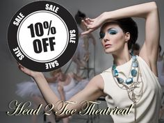 Select Mehron products 10% off. Check out our online store.