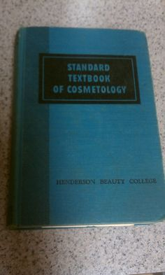 1963 Textbook of Cosmetology, vintage cosmetology book, beauty textbook, vintage beauty book, beauty tips, beauty suggestions by FlowerChildTrends on Etsy