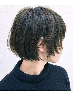 Pin on 髪 Short Hair Tomboy, Korean Short Hair, Asian Hair, Hair 2018, Hair Designs, Hair Goals, Hair Inspiration, My Hair, Short Hair Styles