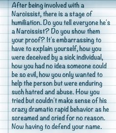 Narcissists And Defending Yourself - My family and true friends know and understand.  Everyone else will either stand by me or hit the road, and that is okay.