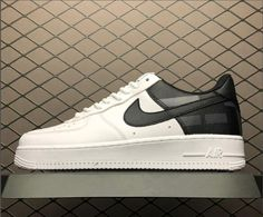 6e4a0d74d Shop Nike Air Force 1 Low White/White-Black AV8363-100