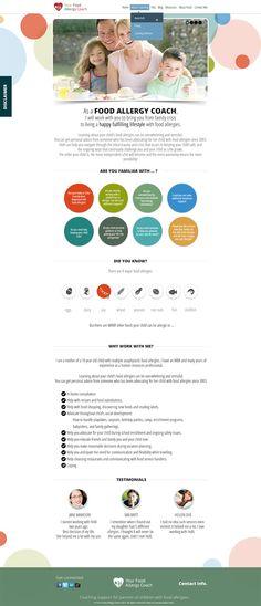 Web design by Vallentin #POTD99 08.05.2013 #dots #food #family