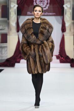 sable fur jacket  :: Russian Siberian Sable fur  #anandco #furfashion #furonline