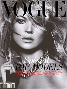 KATE MOSS is the world's most prolific Vogue cover girl – with thirty British Vogue covers, 16 Vogue Paris covers, and five for US Vogue. Since 1993 she has been one of the world's most recognisable models – and her versatility has seen her grace Vogue Peter Lindbergh, Kate Moss, Vogue Cover, Vogue Magazine Covers, Cara Delevingne, Vogue Vintage, Moss Fashion, Vogue Fashion, Fashion Hair
