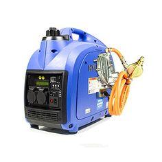 Hyundai HY2000Si-LPG LPG/Petrol Inverter Generator Dual Fuel, 2 kW