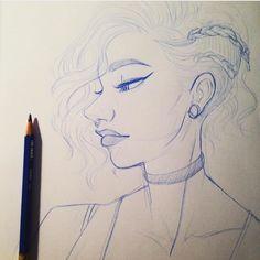 Sketching   #sketching #drawings #drawing #drawmerootistabootus #portrait #art #artist