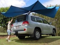 Clevershade Erection 3 Truck Topper Camping, Truck Toppers, Car Awnings, Lexus Gx, Van Camping, Campers, Volkswagen, Tent, Shades