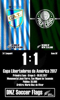 Atlético Tucumán 1 x 1 Palmeiras