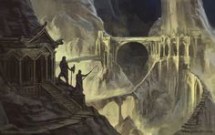 Mines of Moria - Lord of the Rings TCG by jcbarquet.deviantart.com on @DeviantArt