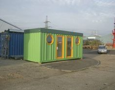 Wow - with a good coat of paint this container looks really good