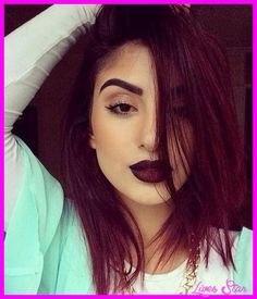 nice Hair and makeup for long hair