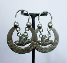 Antique Ethnic Mayan Guatemalan Silver by ColeccionLunaVintage