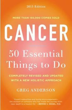 Anderson reveals a step-by-step holistic action plan that has been successfully employed by hundreds of thousands of cancer patients worldwide. Anderson's message is: ?You must not simply treat illness, you must also create wellness'physically, emotionally and spiritually.'